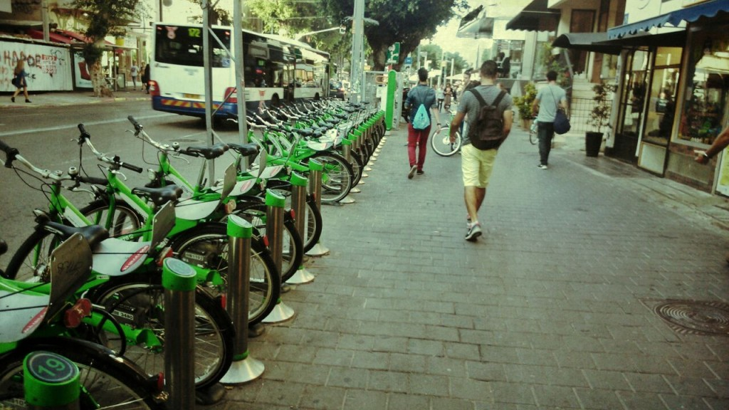 Time & Place guide to getting around Tel Aviv