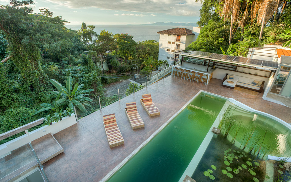 Top 5 Patios and Pools in Puerto Vallarta