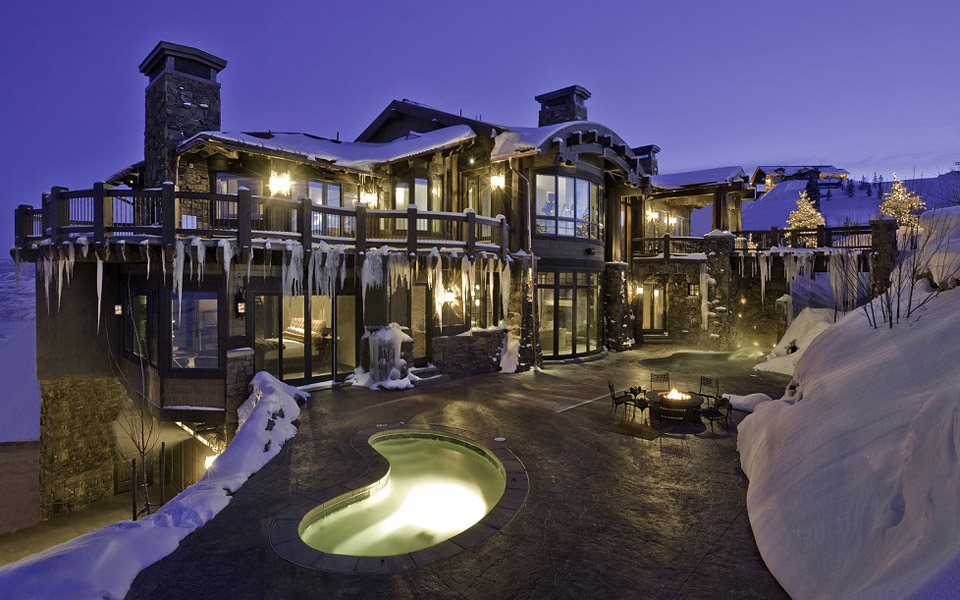 Over the Top Vacation Homes: Dream Ski Home, Deer Valley
