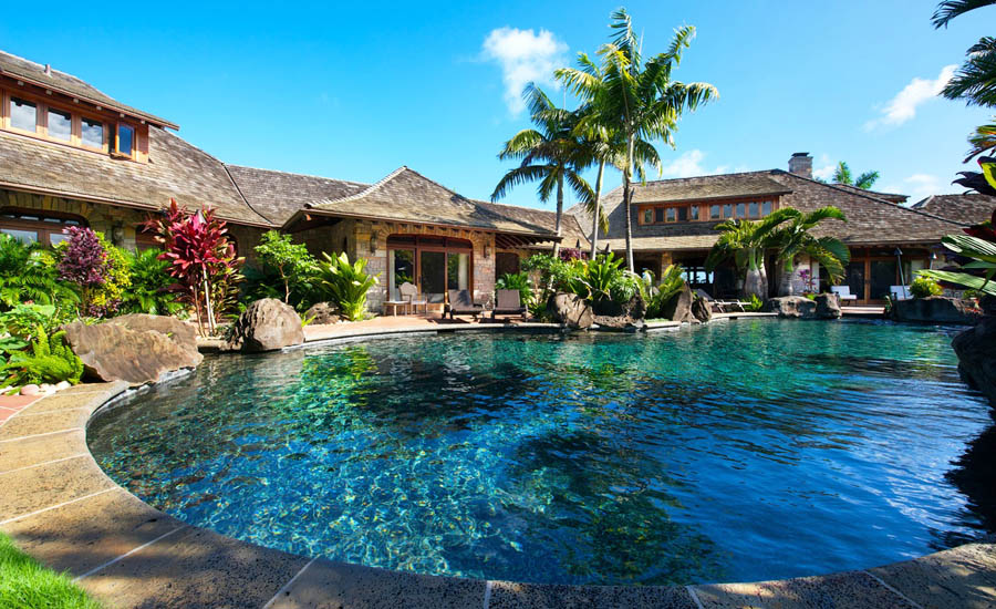 The Most Over the Top Vacation Homes: Anini Vista Drive Estate, Kauai
