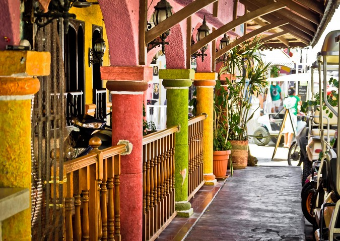 Colorful Isla Mujeres by Devin Stein