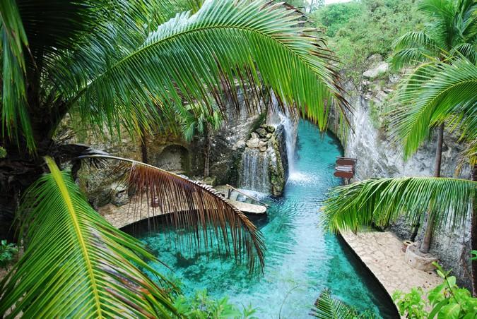 Underground River in Playa Del Carmen