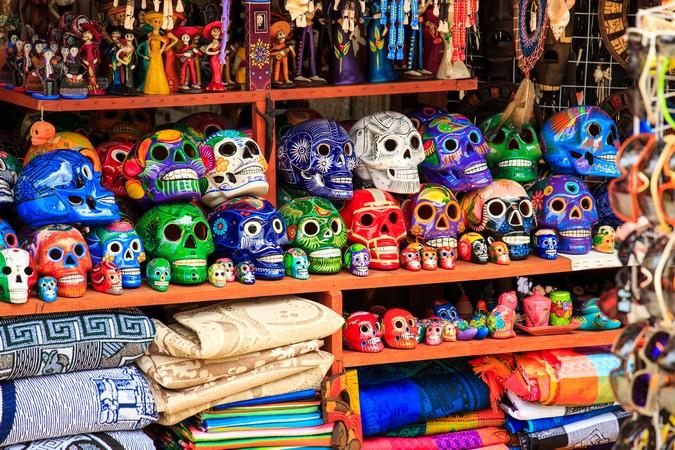 Mayan Indian Artifacts at Playa Del Carmen