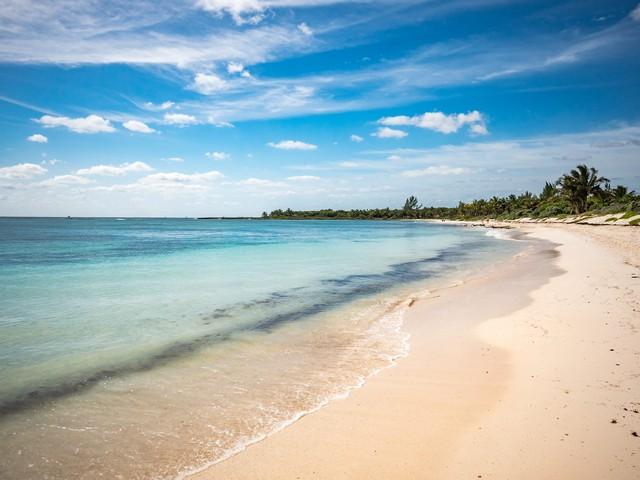 Playa Del Carmen Warm Sandy Beach