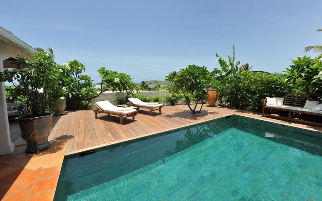 St Barts luxury pool villa