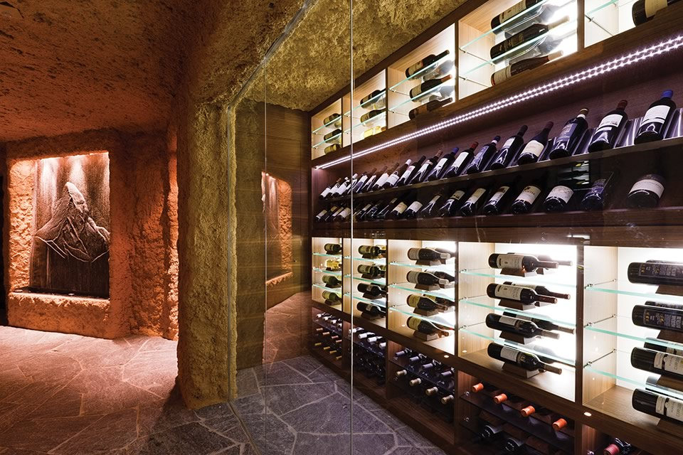 Luxurious Wine Cellars