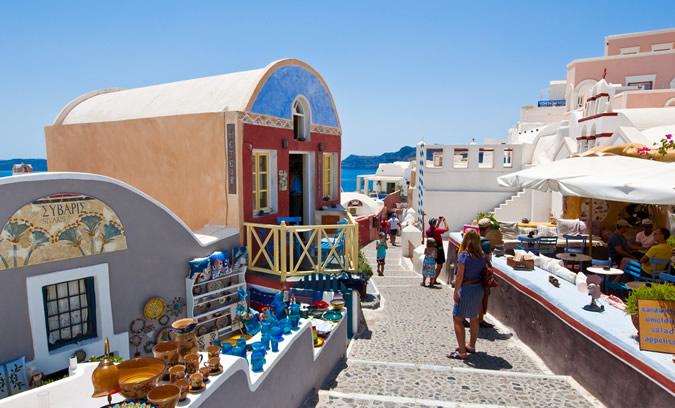 Oia Santorini Shopping
