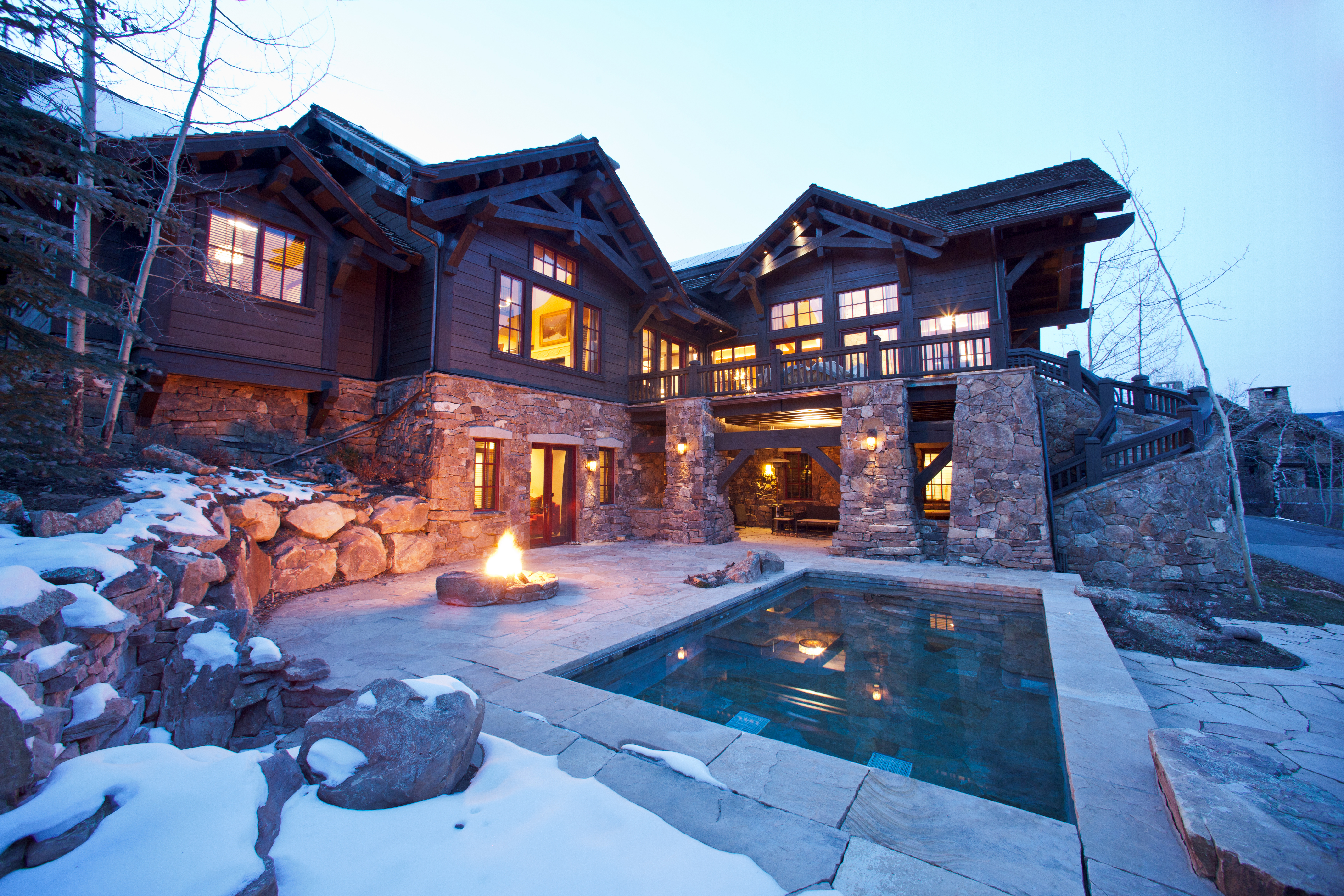 5 Magnificent Luxury Ski In Out Vacation Rentals Bachelor Ridge
