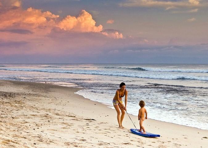 Calm beaches along Punta Mita coast