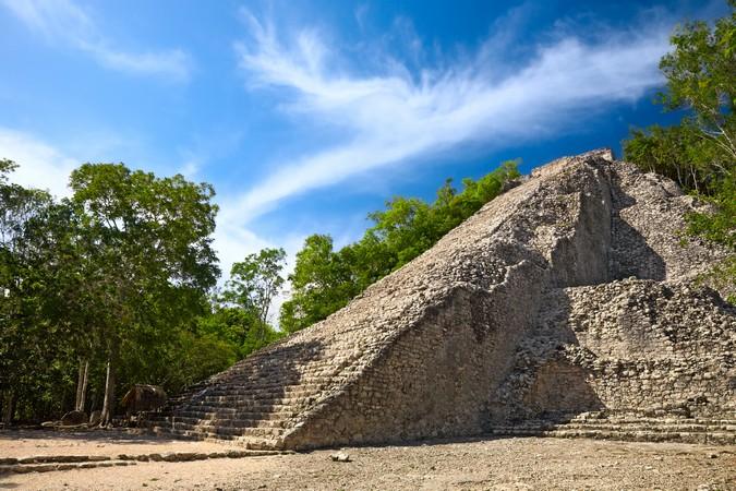 Prehispanic Mayan ruins