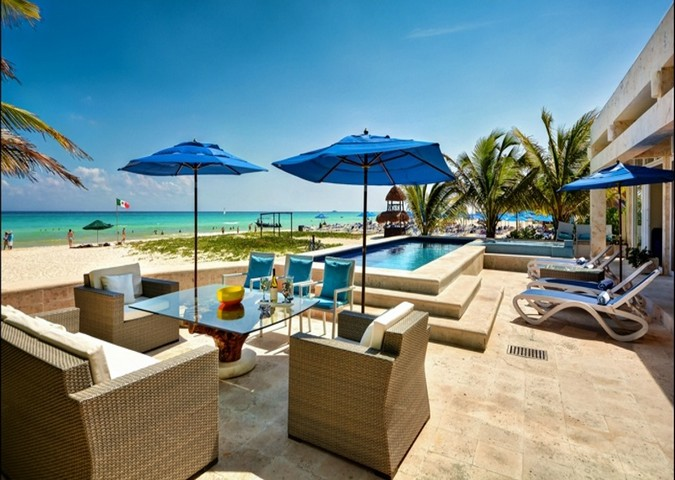 Oceanfront private oasis Beach House - Riv Maya