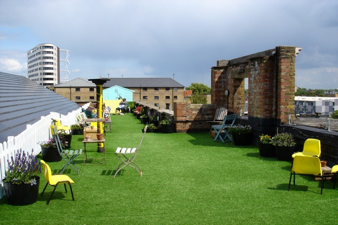 Dalston Roof Park London