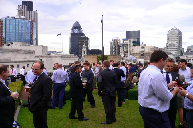London's Rooftop Bars: Coq d'Argent