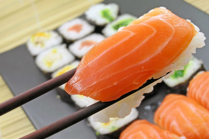 Sashimi Platter at SUSHISAMBA