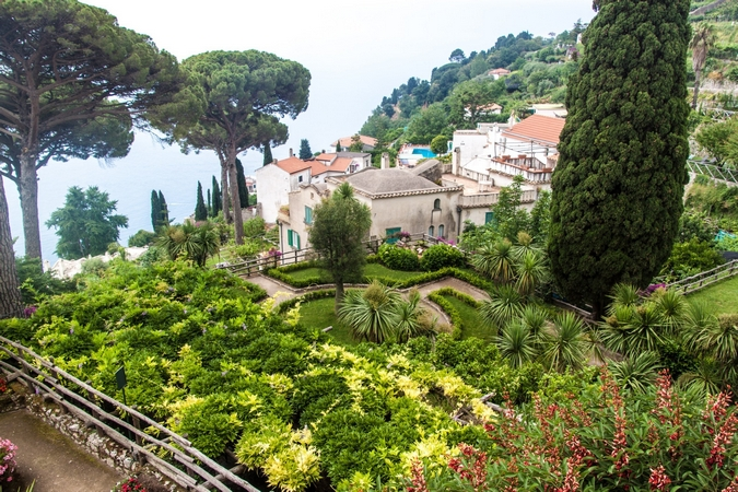 Villa Rufolo in Ravello village